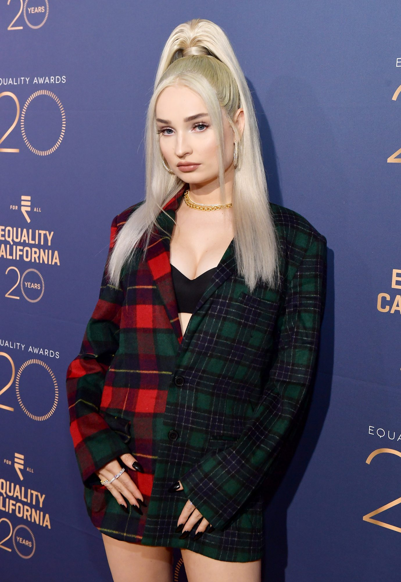 Kim Petras attends Equality California's Special 20th Anniversary Los Angeles Equality Awards at the JW Marriott Los Angeles at L.A. LIVE on September 28, 2019 in Los Angeles