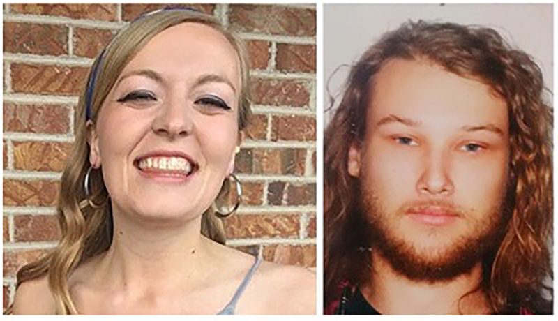 Chynna Noelle Deese, 24, of the United States and Lucas Robertson Fowler, 23 of Australia