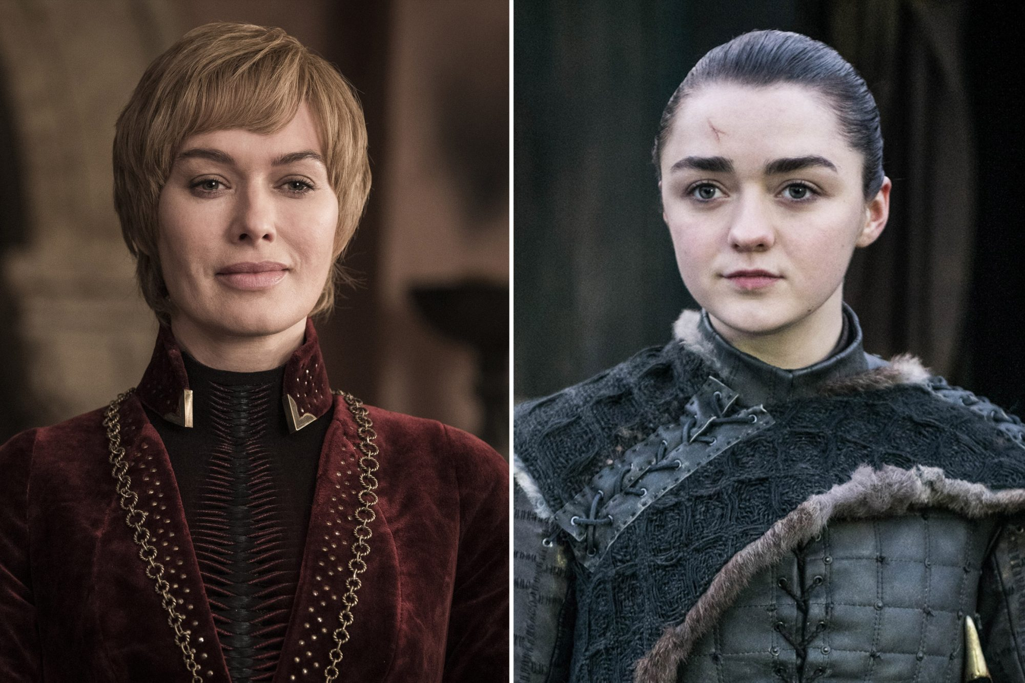 Game of Thrones Lena Headey as Cersei Lannister Maisie Williams as Arya Stark