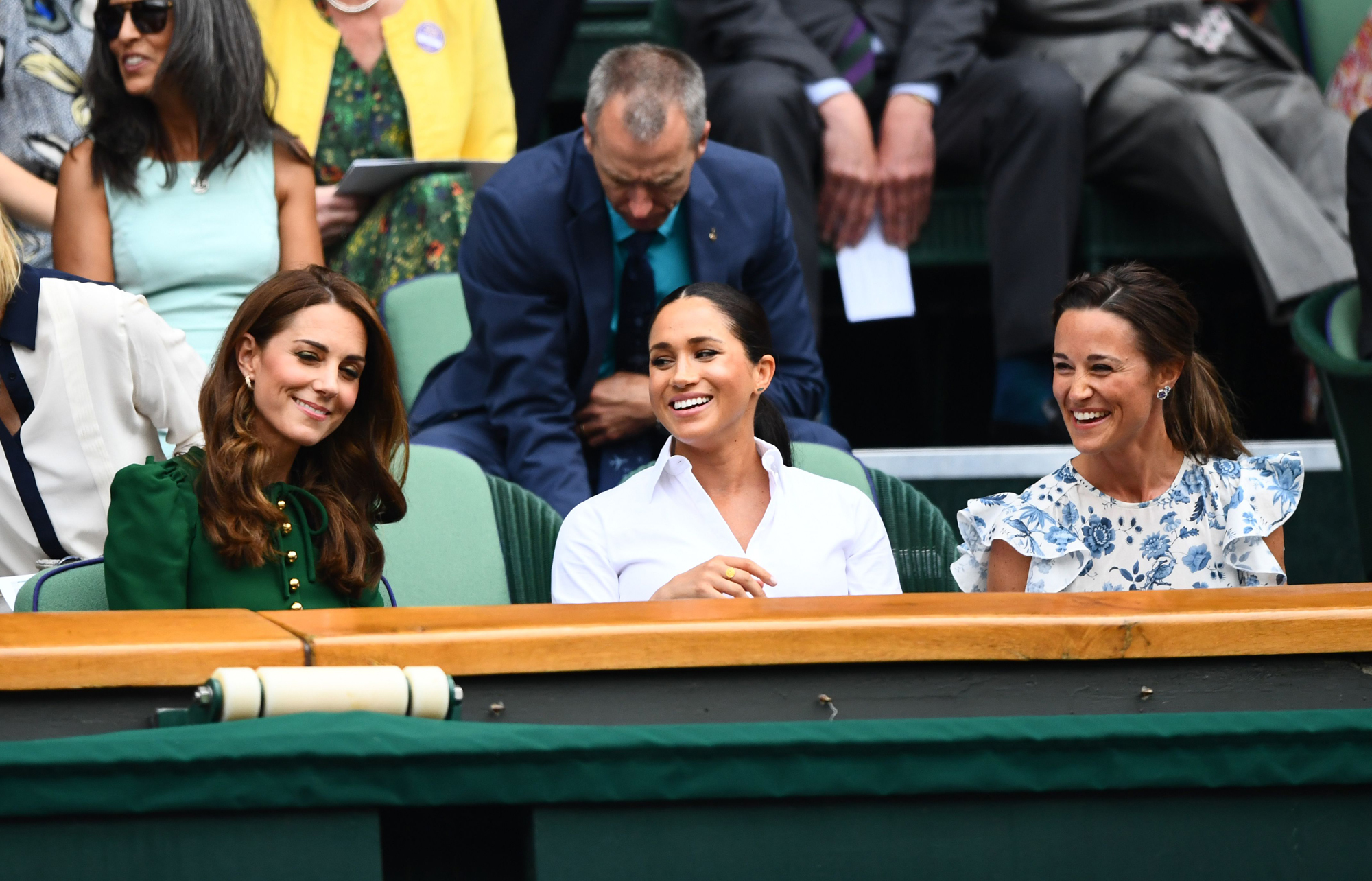 Catherine, Duchess of Cambridge, Meghan, Duchess of Sussex and Pippa Middleton
