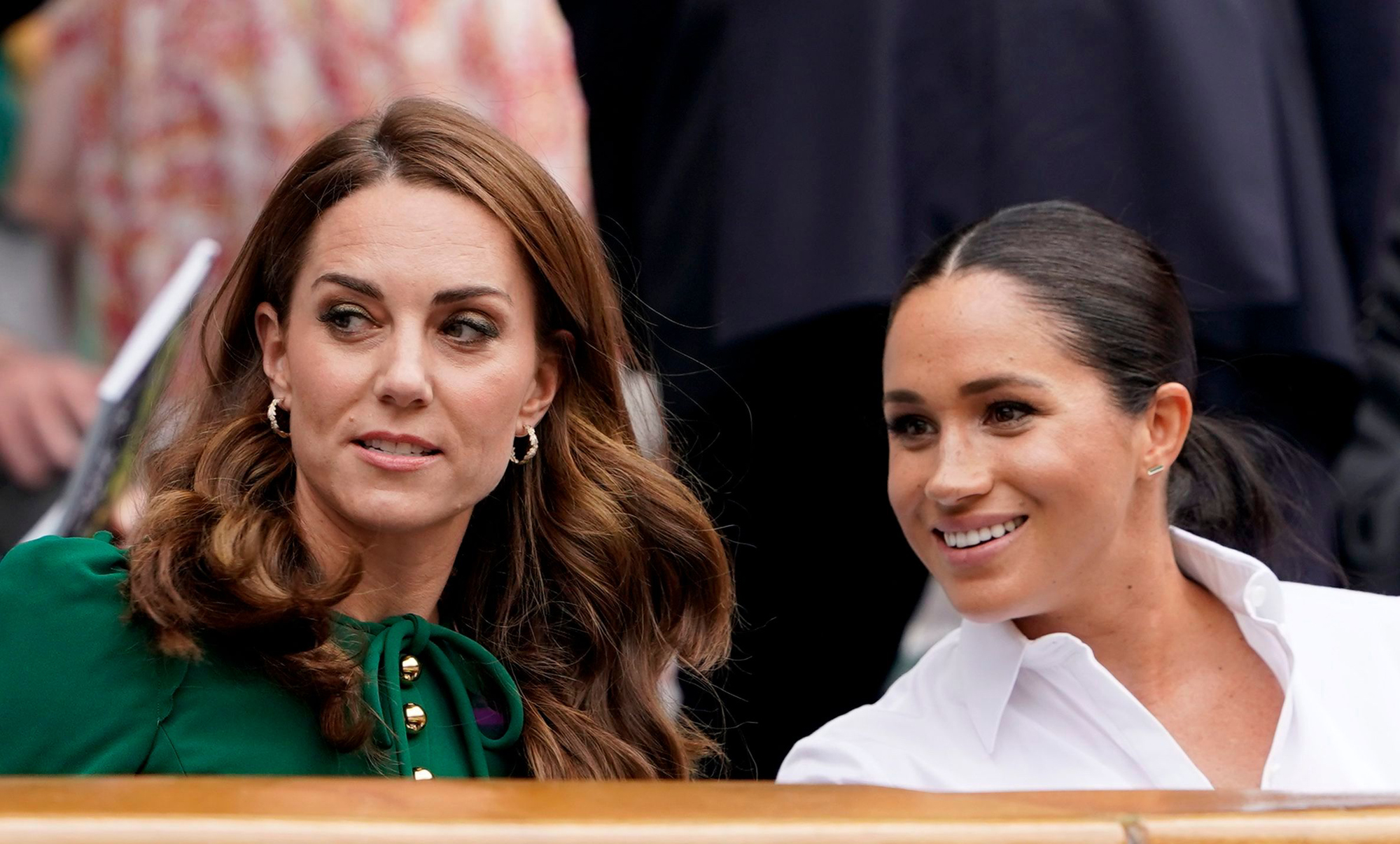 Catherine, the Duchess of Cambridge and Meghan Markle, the Duchess of Sussex
