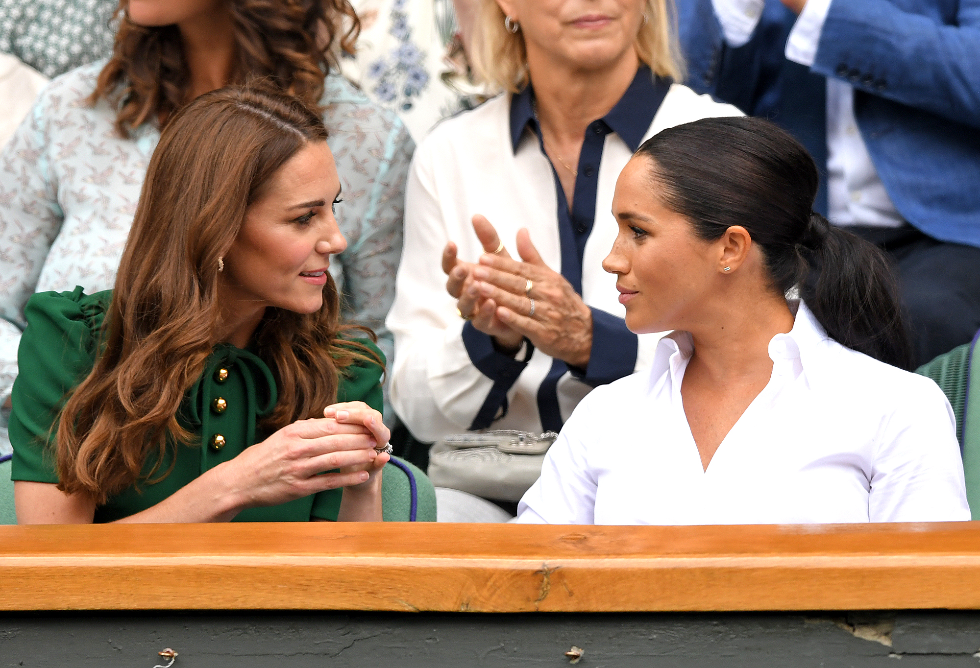 Kate, Duchess of Cambridge and Meghan, Duchess of Sussex