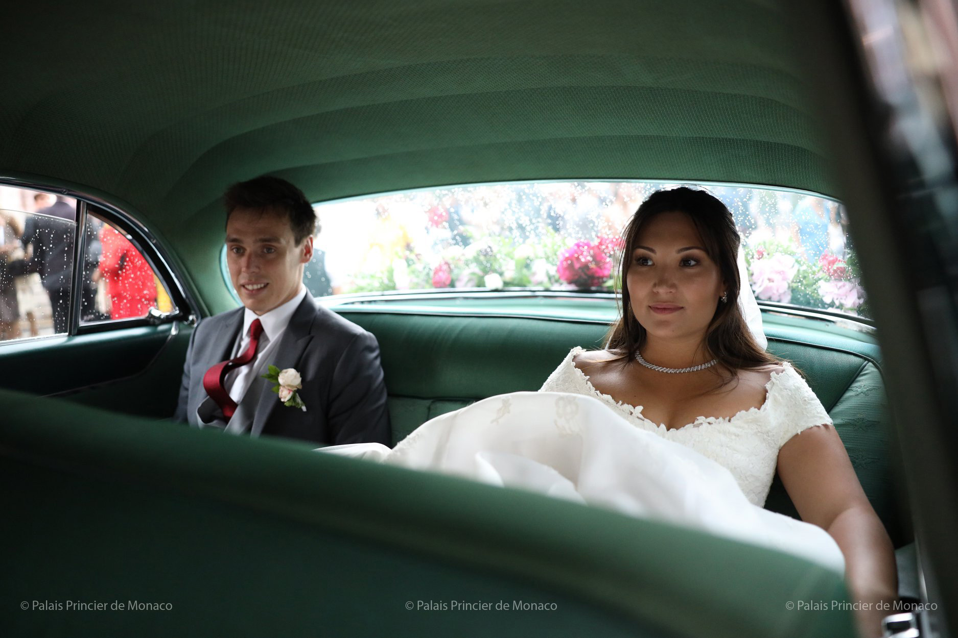 Friday, July 26th, Mr. Louis Ducruet, the oldest son of s.a.s. princess Stephanie and m. Daniel Ducruet, married miss Marie Chevallier at a civil ceremony celebrated at the city hall of Monaco by m. Georges Marsan, the mayor.
