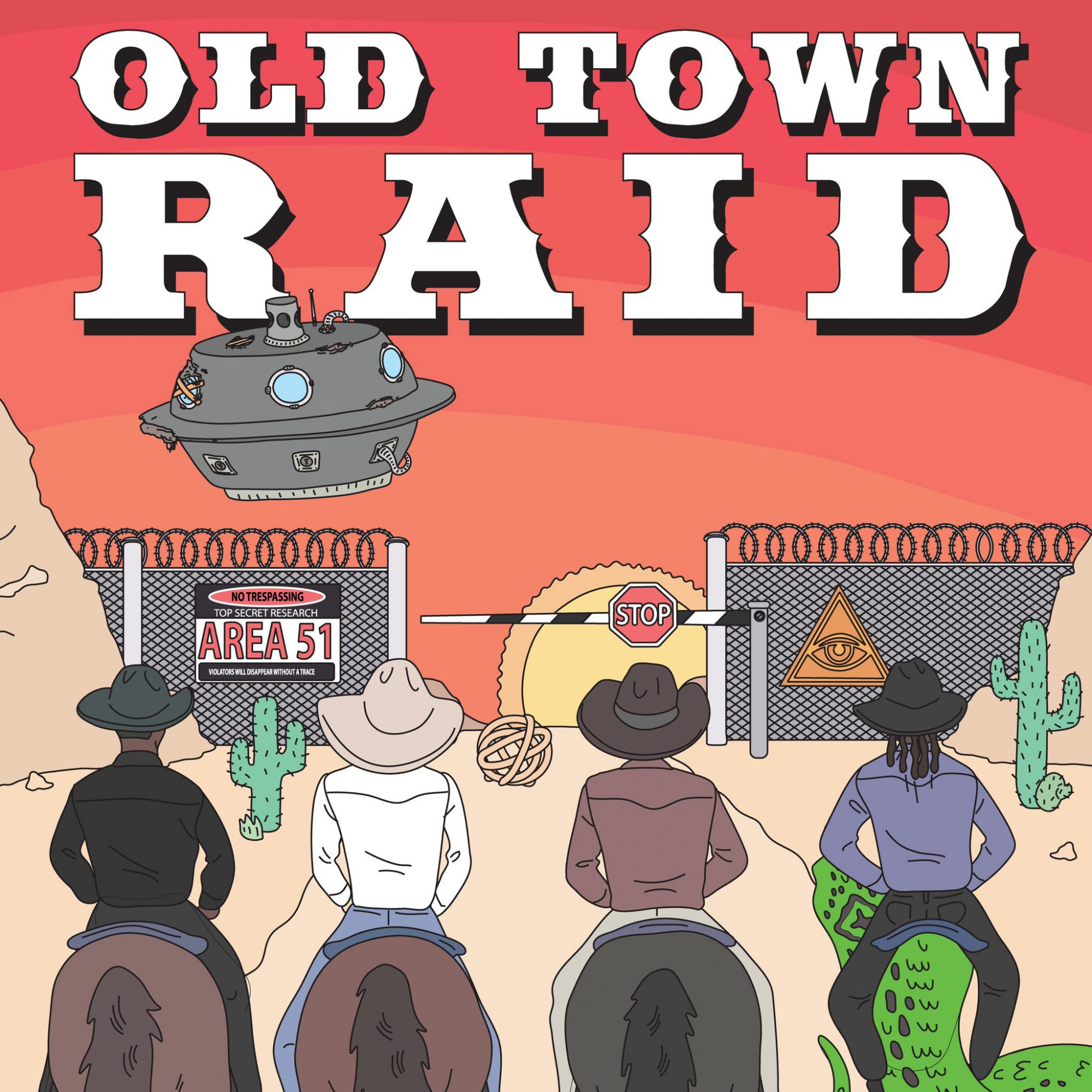 Old Town Road Area 51 Lil Nas X Twitter