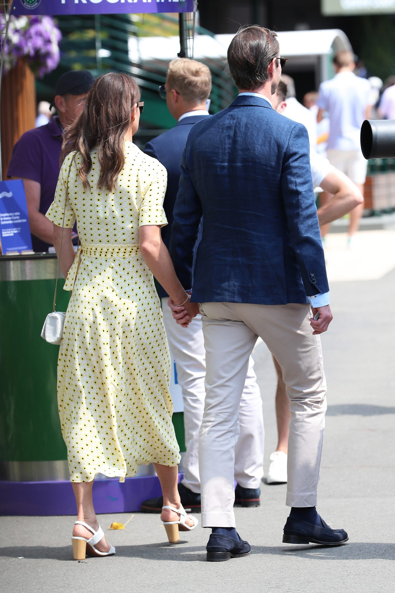 Pippa Middleton and James Matthews Wimbledon