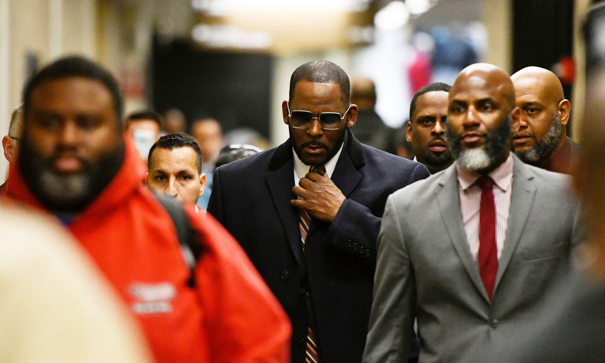 Musician R. Kelly arrives at the Daley Center for a hearing in his child support case, in Chicago R Kelly Investigation, Chicago, USA - 08 May 2019