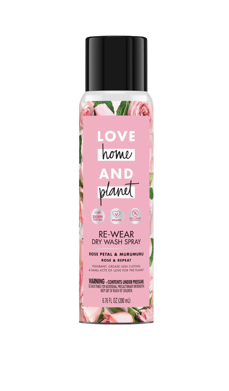 Love Home & Planet Re-Wear Dry Wash Spray