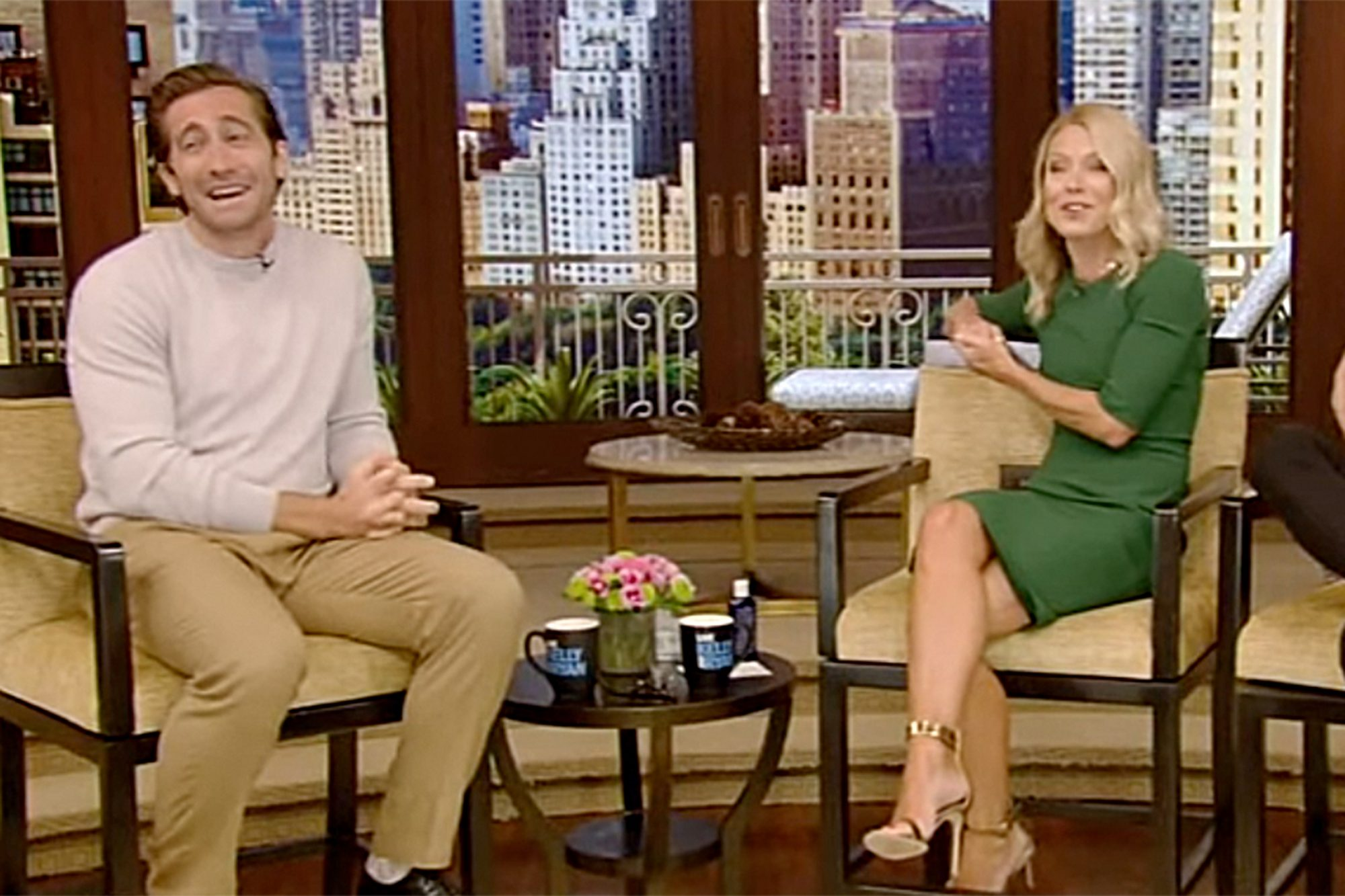 Kelly Ripa, Jake Gyllenhaal