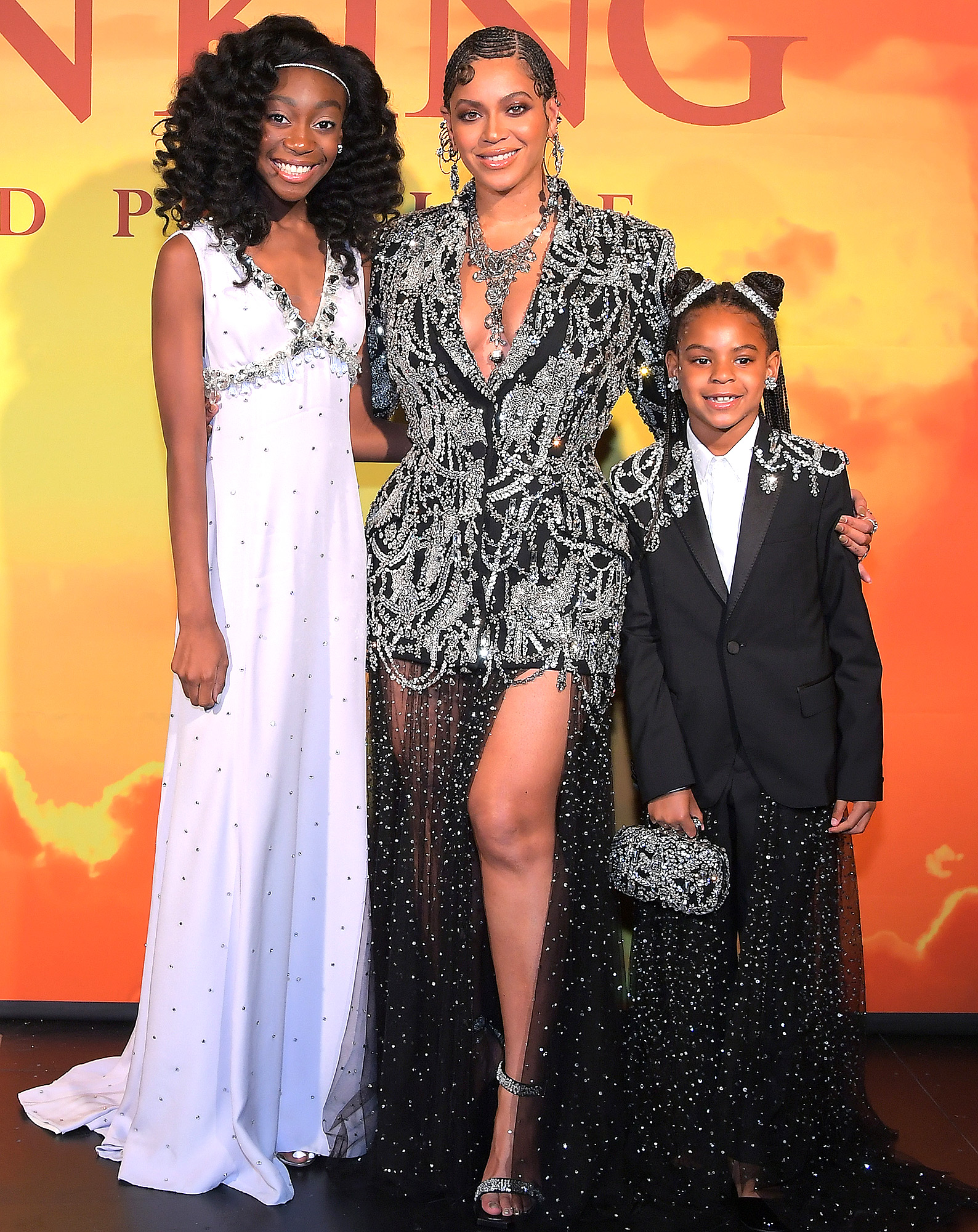 hahadi Wright Joseph, Beyonce Knowles-Carter, and Blue Ivy Carter
