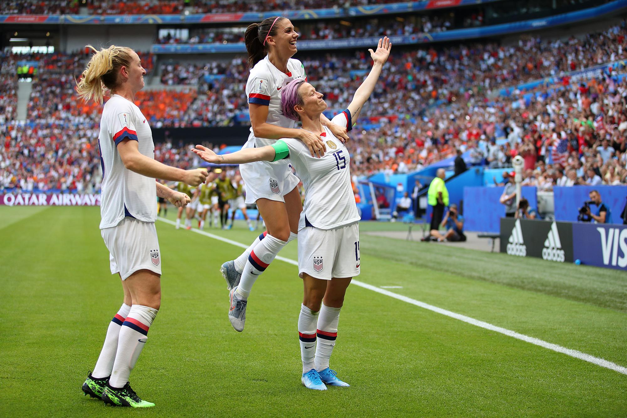 The USWNT Become World Cup Champions
