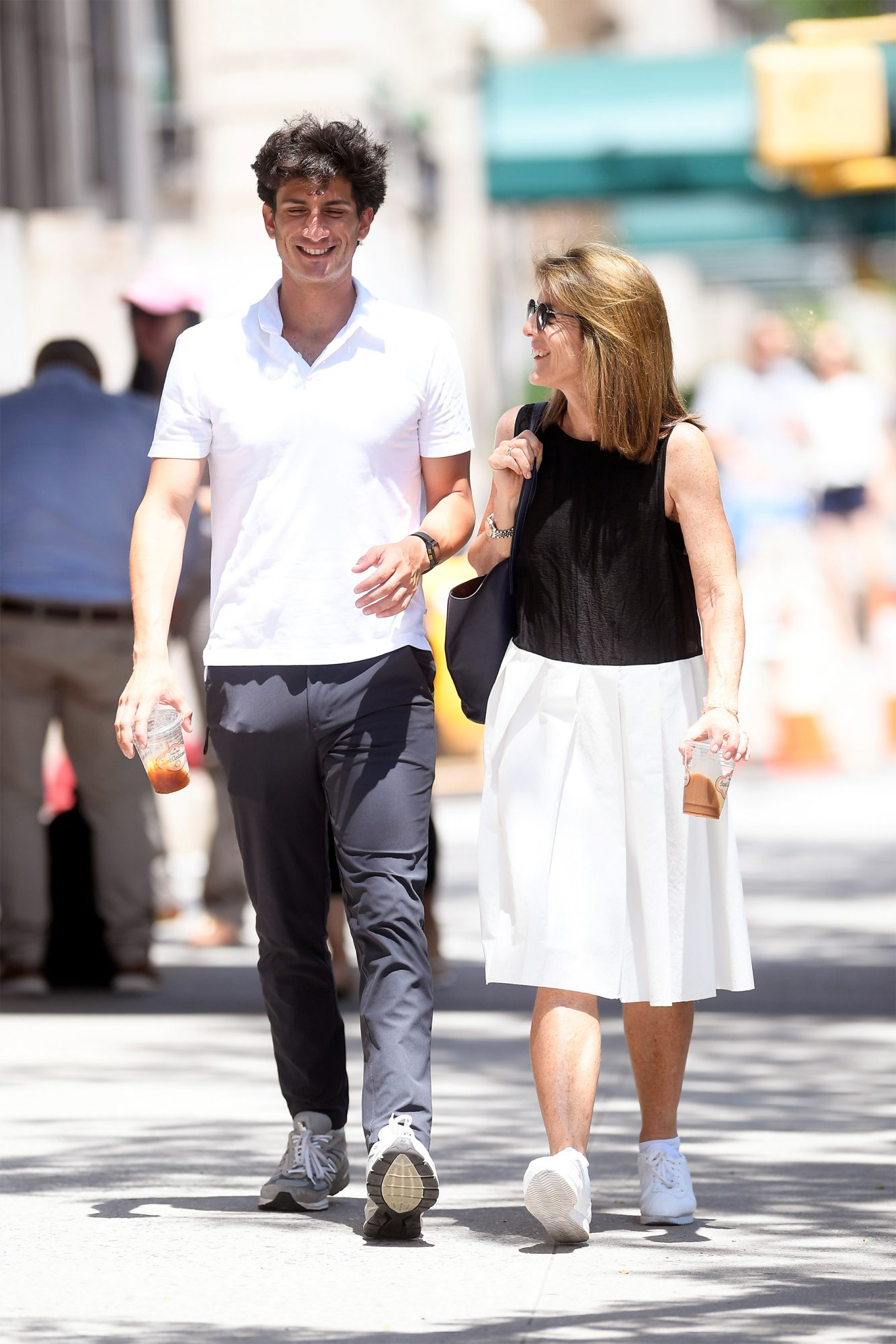 Caroline Kennedy And Son Jack Schlossberg Spotted In N Y C