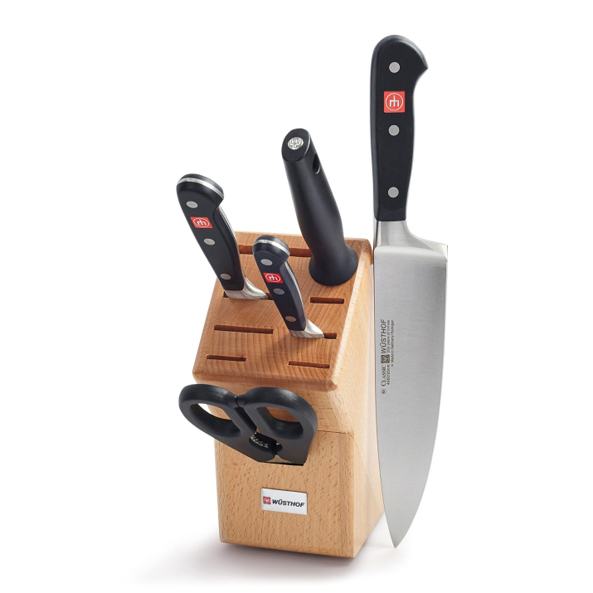 Wüsthof Classic 6-Piece Knife Block Set at Sur La Table