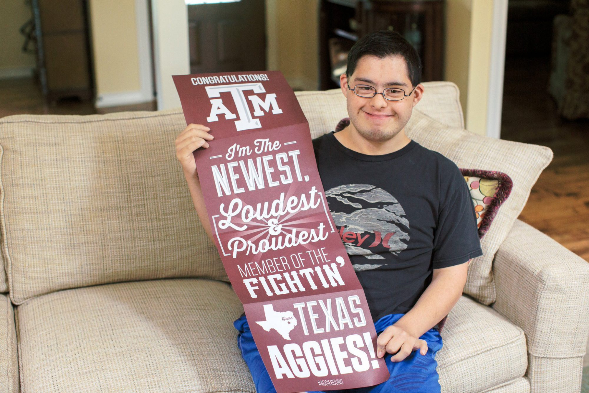 Texas A&M announced its new 4yr program for students with disabilities.