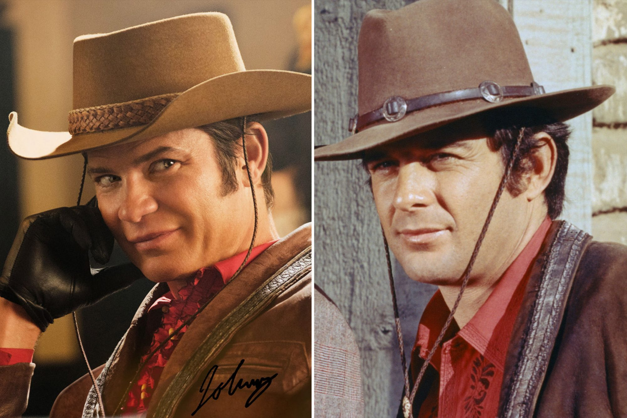 Timothy Olyphant and James Stacy