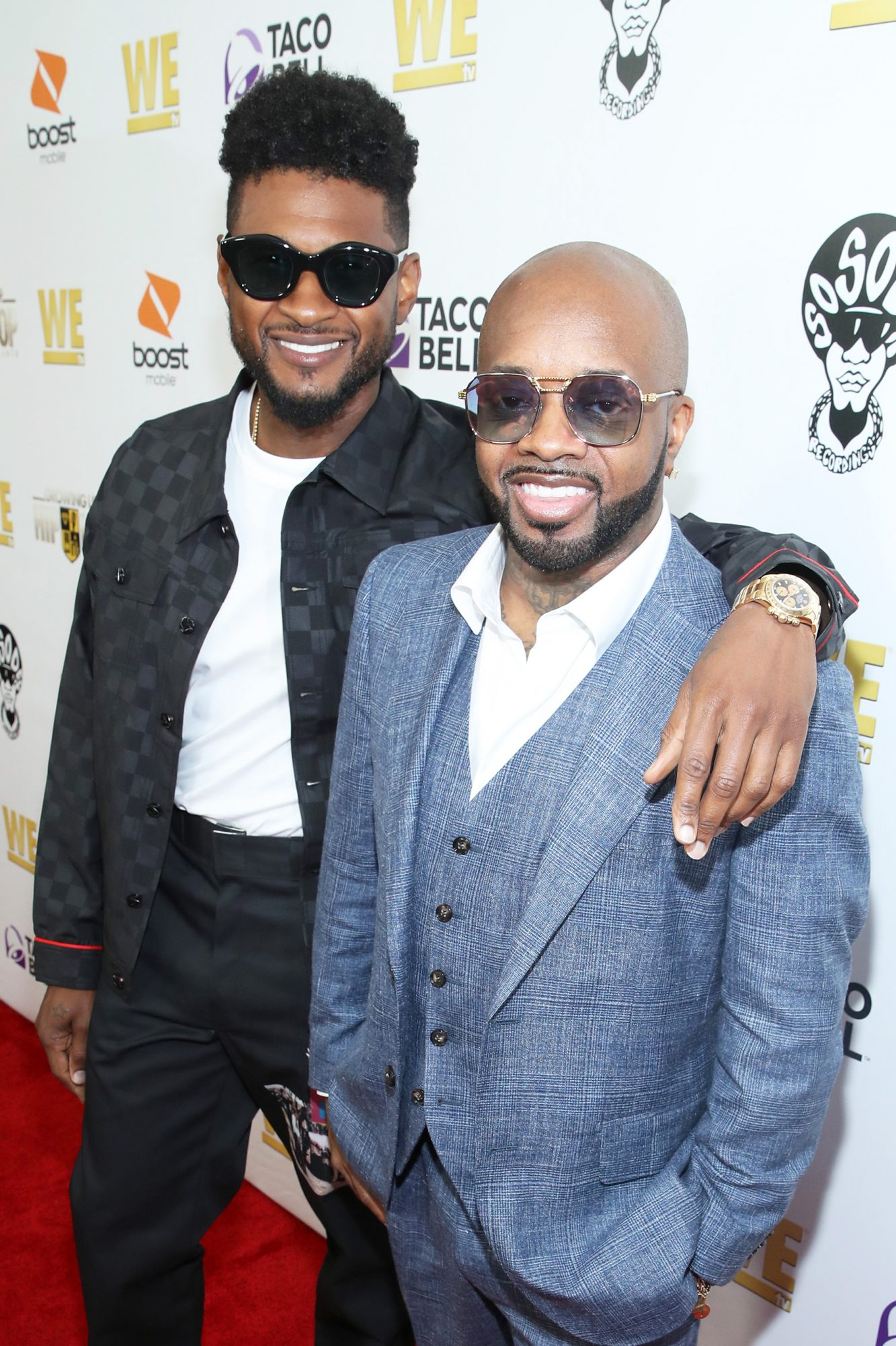 Usher and Jermaine Dupri