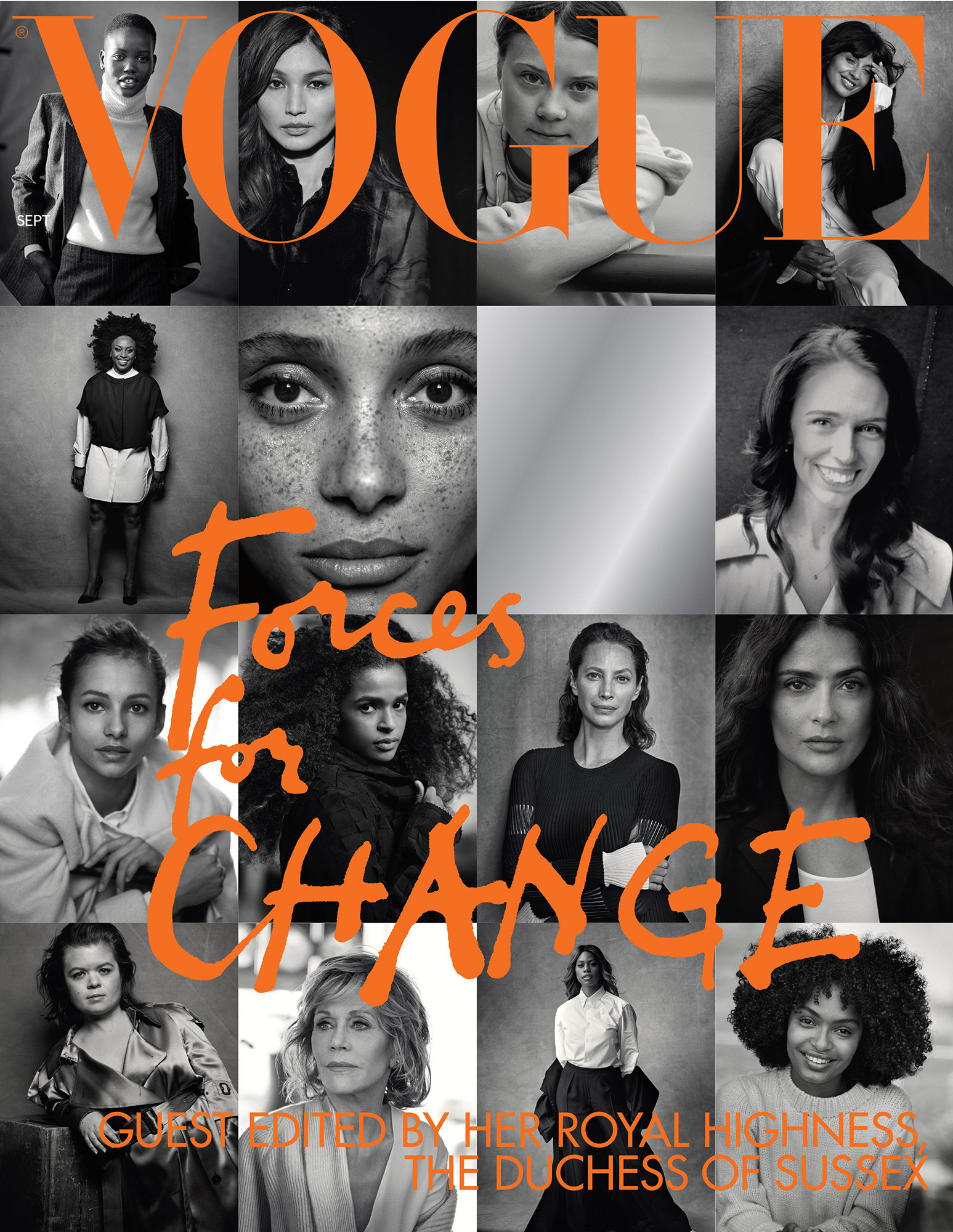 Meghan Markle Duchess of Sussex Vogue