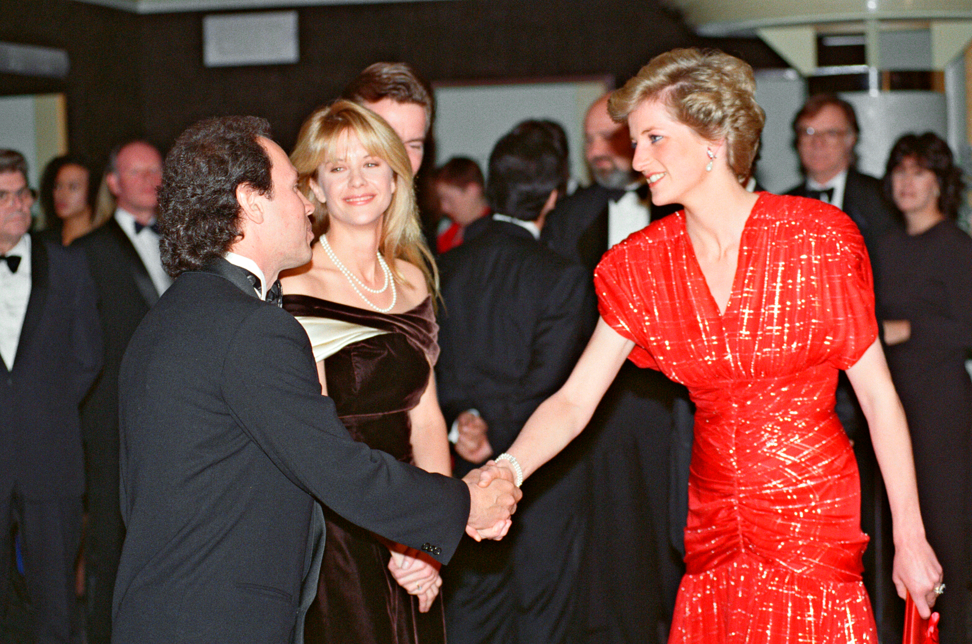 Princess Diana When Harry Met Sally Premiere