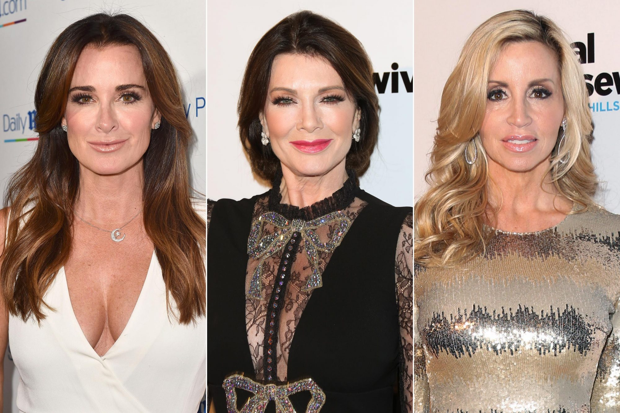 Lisa Vanderpump, Camille Grammer, Kyle Richards