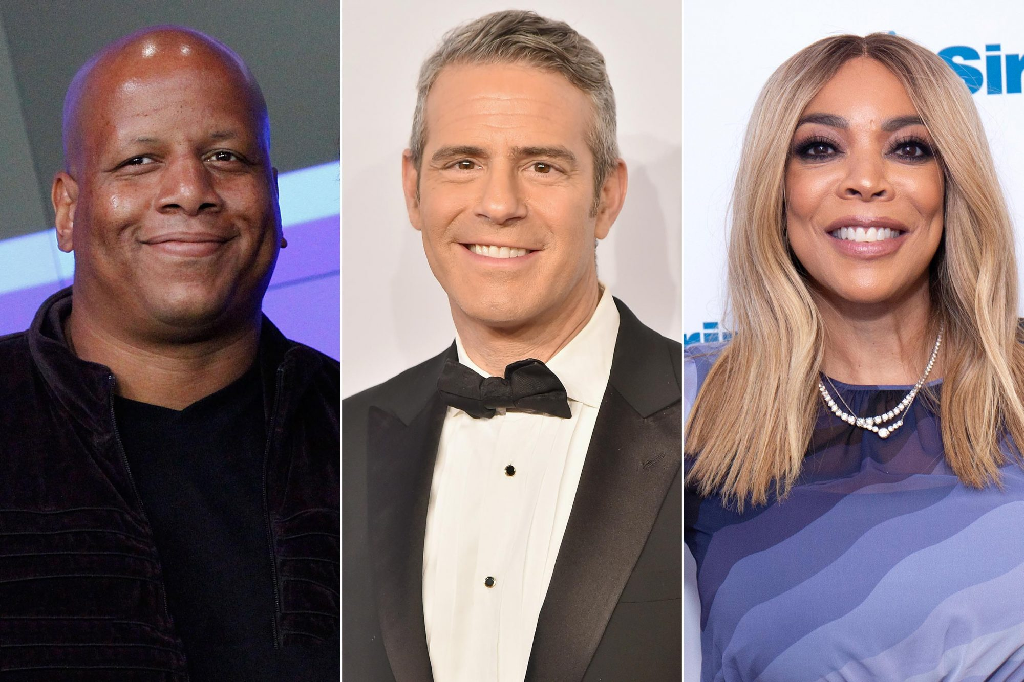 Andy Cohen, Wendy Williams, Kevin Hunter