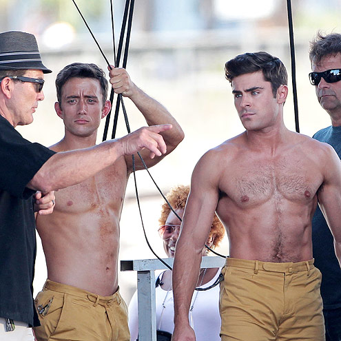 THAT TIME HE OUT-SIX-PACKED HIS STUNT DOUBLE ON THE SET OF DIRTY GRANDPA