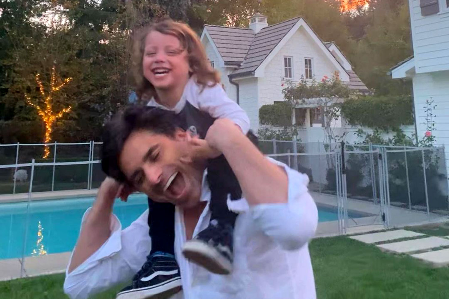John Stamos and son Billy