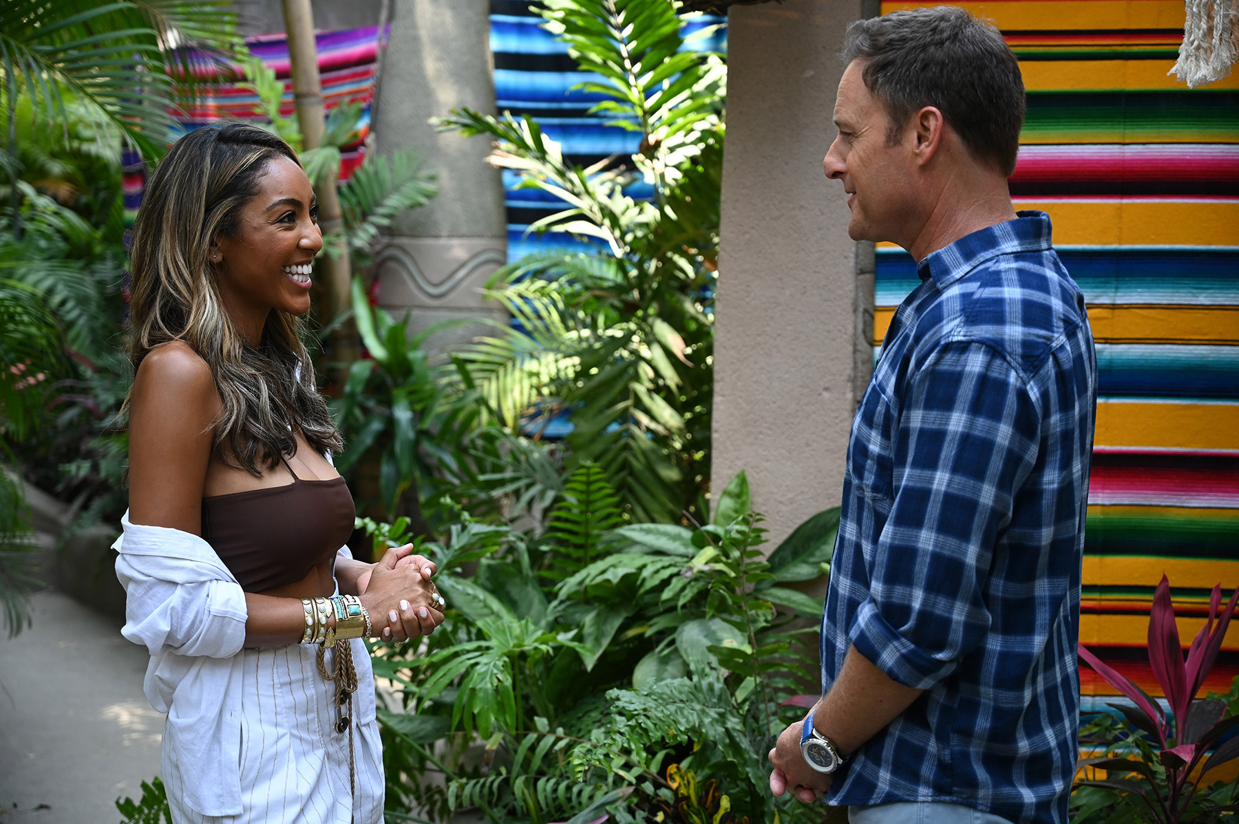TAYSHIA ADAMS, CHRIS HARRISON