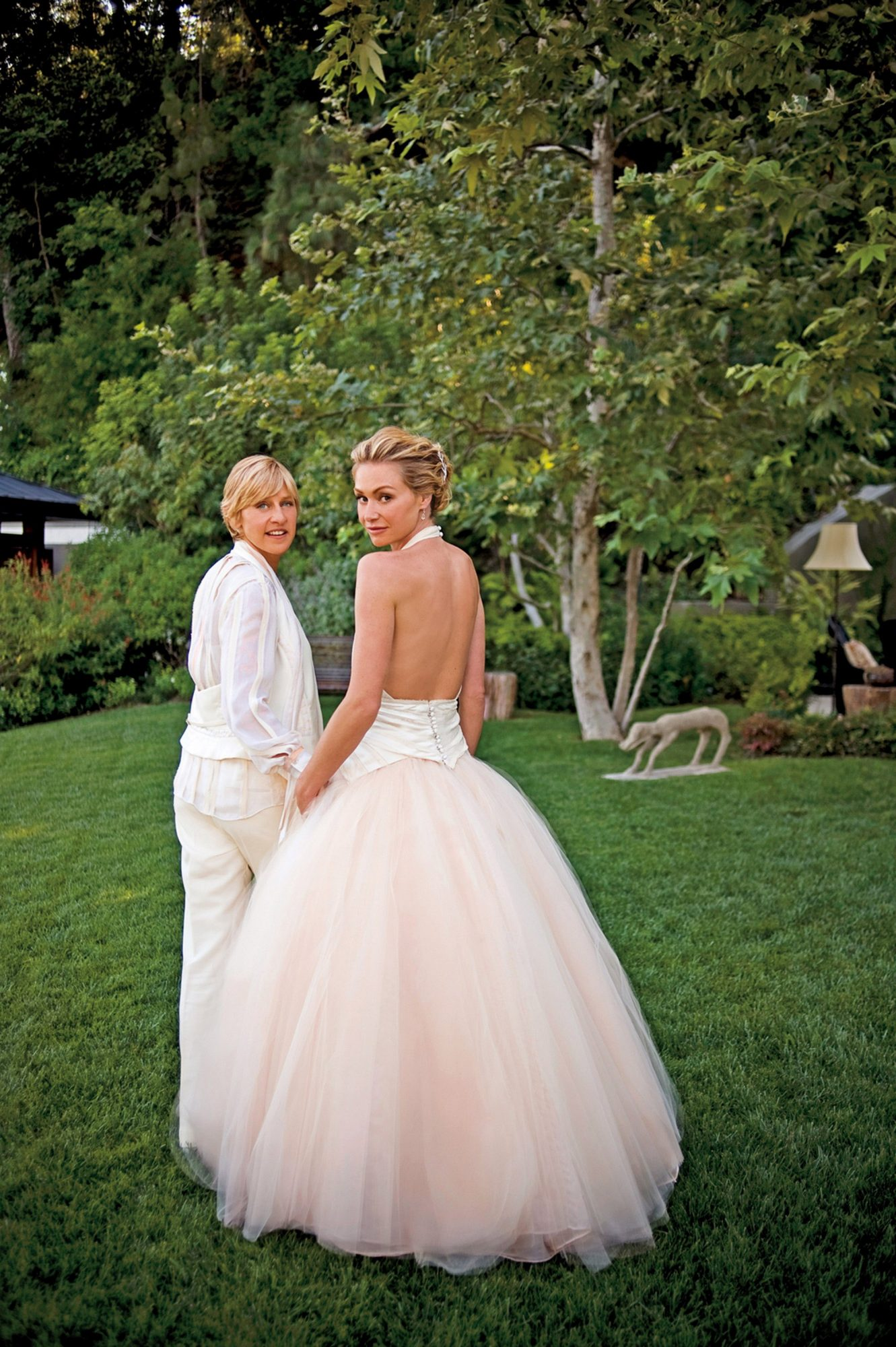 How Ellen Degeneres Made Portia De Rossi More Comfortable With Her Sexuality People Com