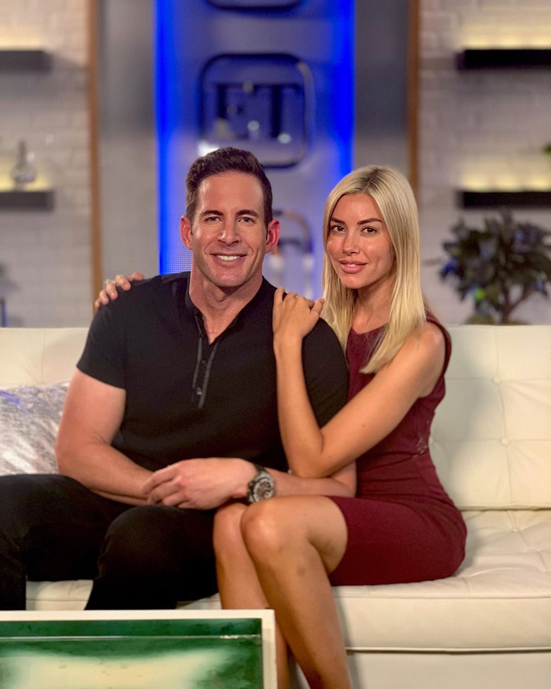 Tarek El Moussa and girlfriend