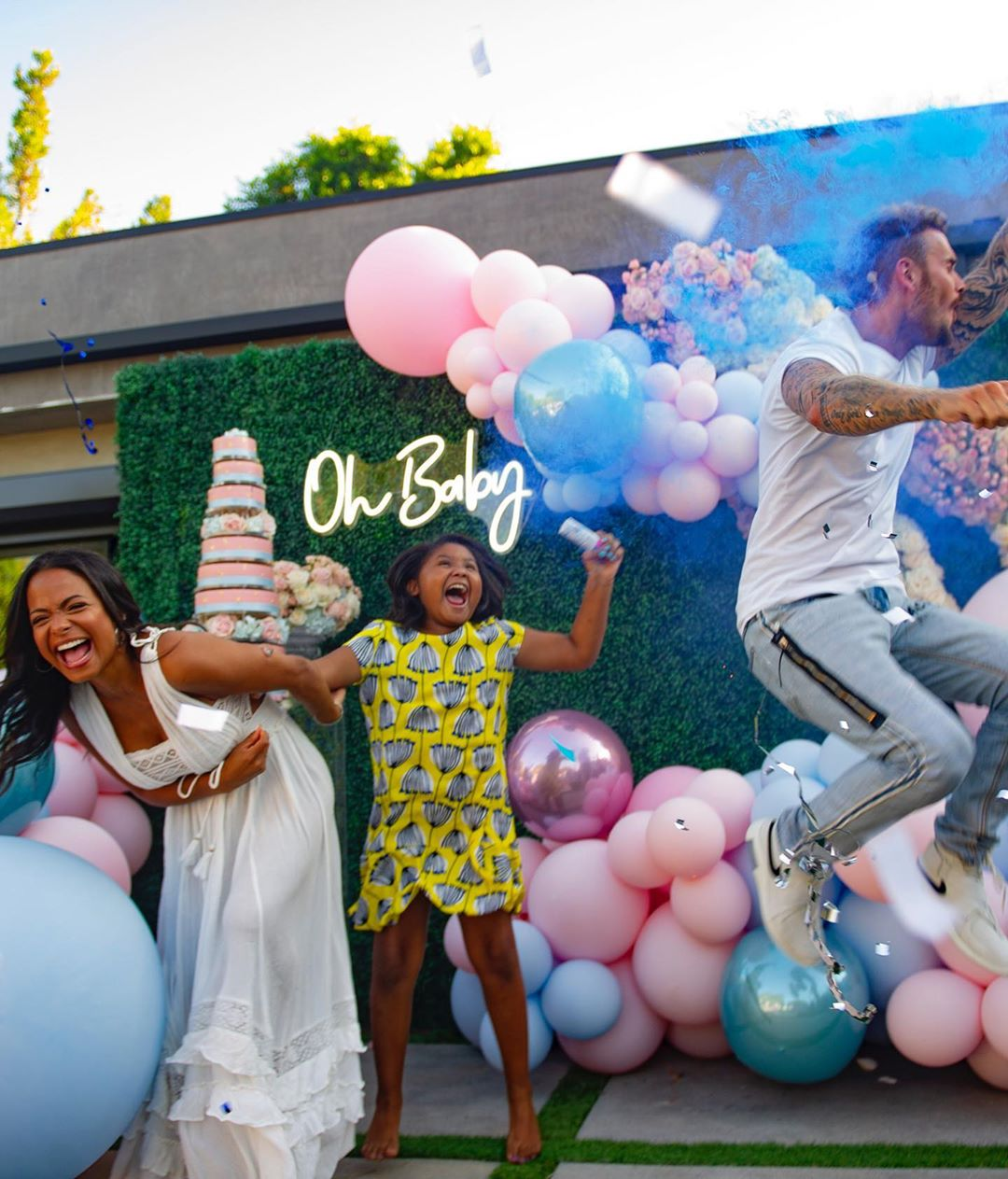Christina Milian Gender Reveal Party