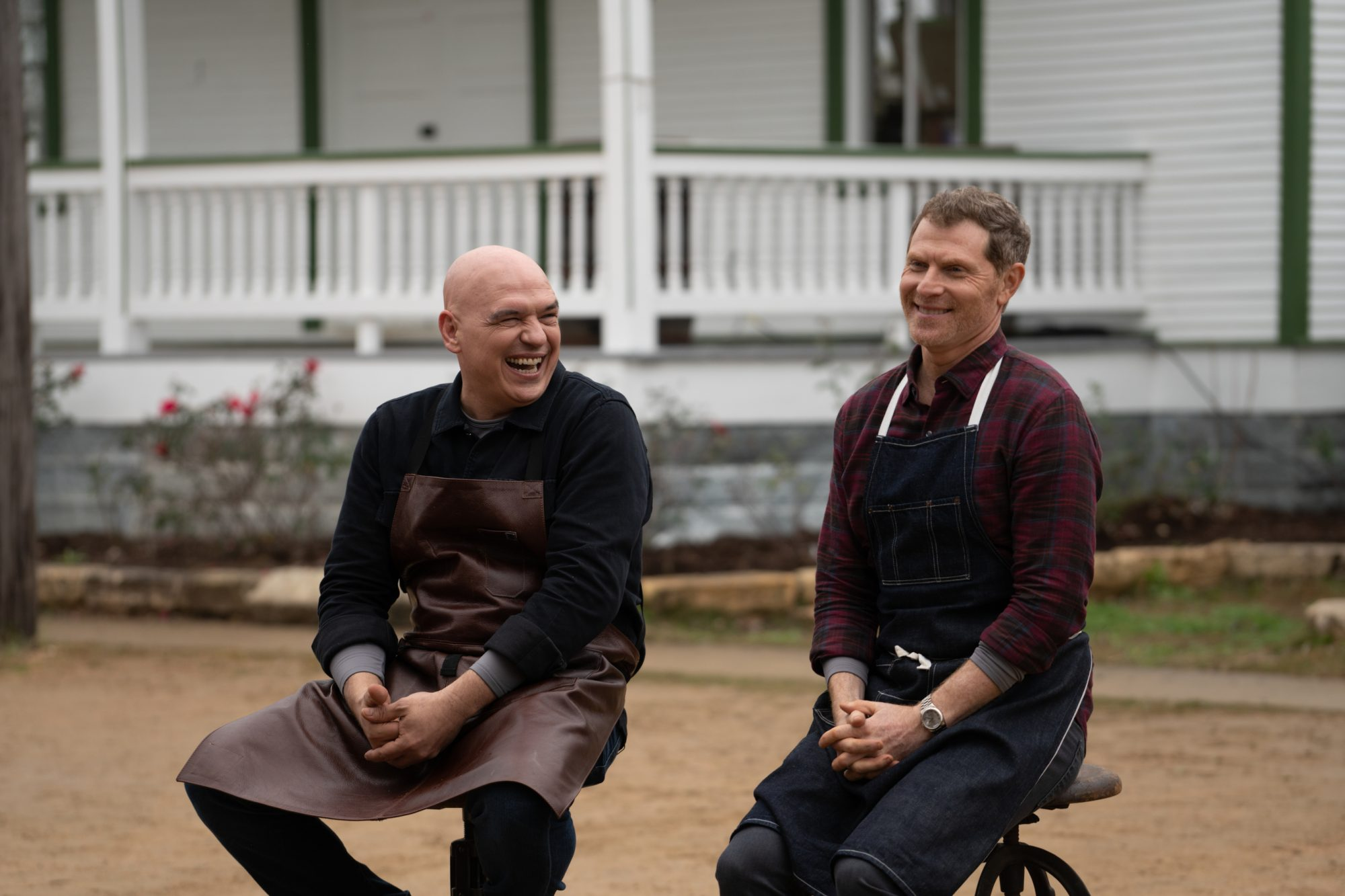 Bobby Flay and Michael Symon