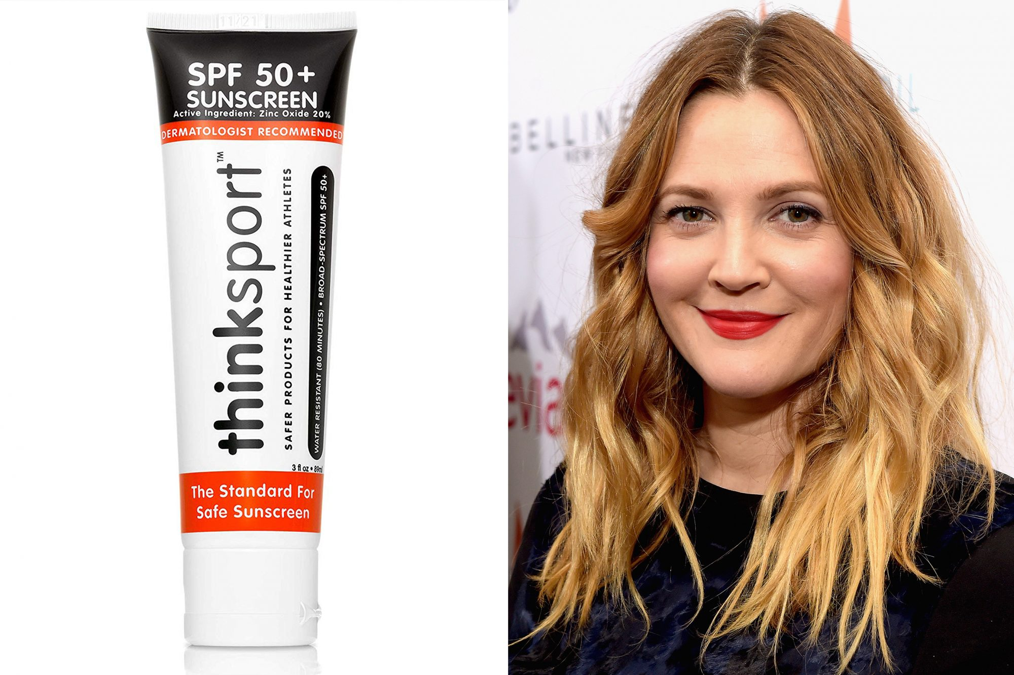 amazon beauty products, Drew Barrymore