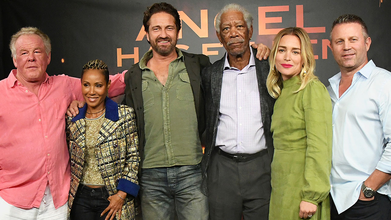 Gerard Butler & Cast on Message of 'Angel Has Fallen': 'Appreciate' the 'Real' Lives of Military