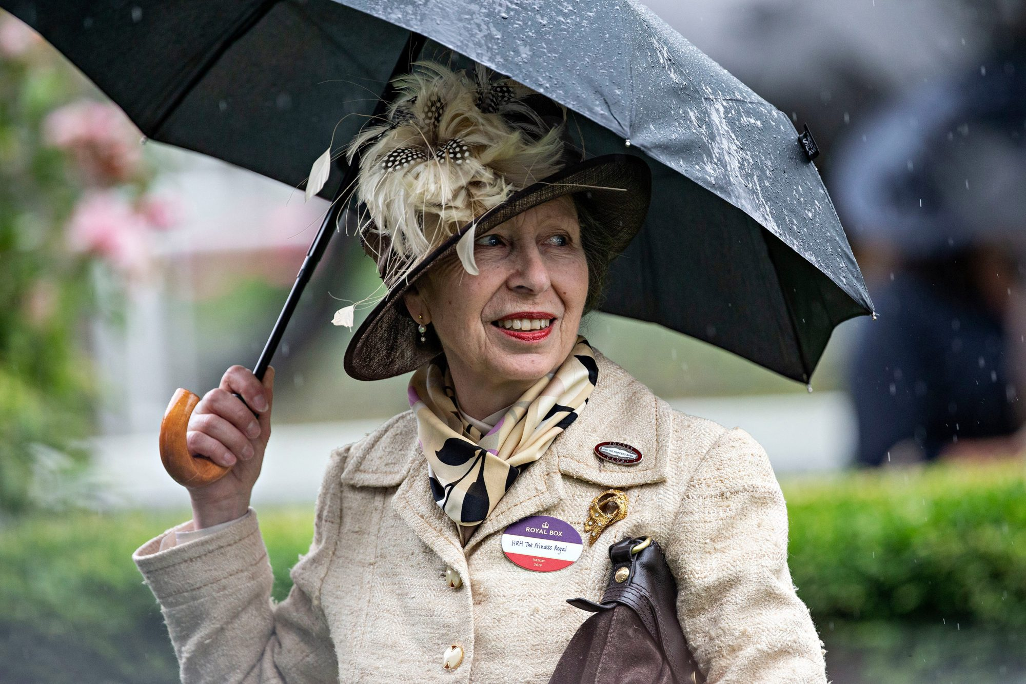Princess Anne. Royal Ascot