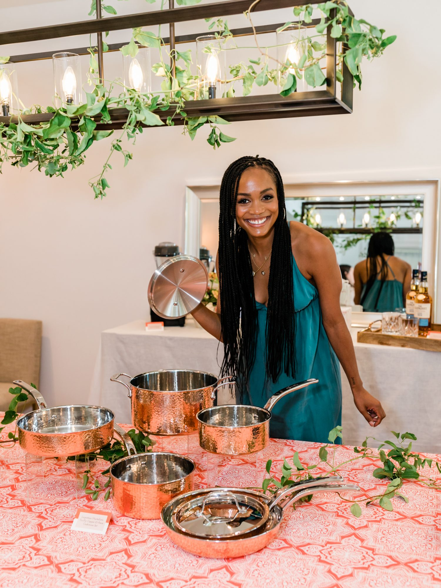 Rachel Lindsay at The Knot event