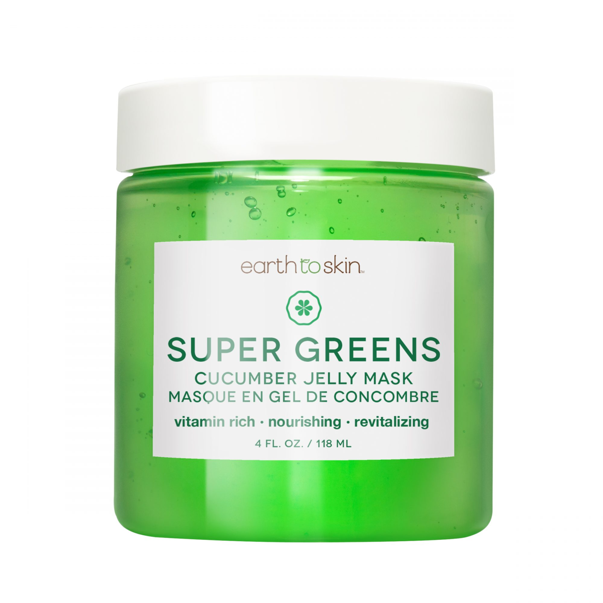 Earth to Skin Super Greens Cucumber Jelly Mask at Walmart