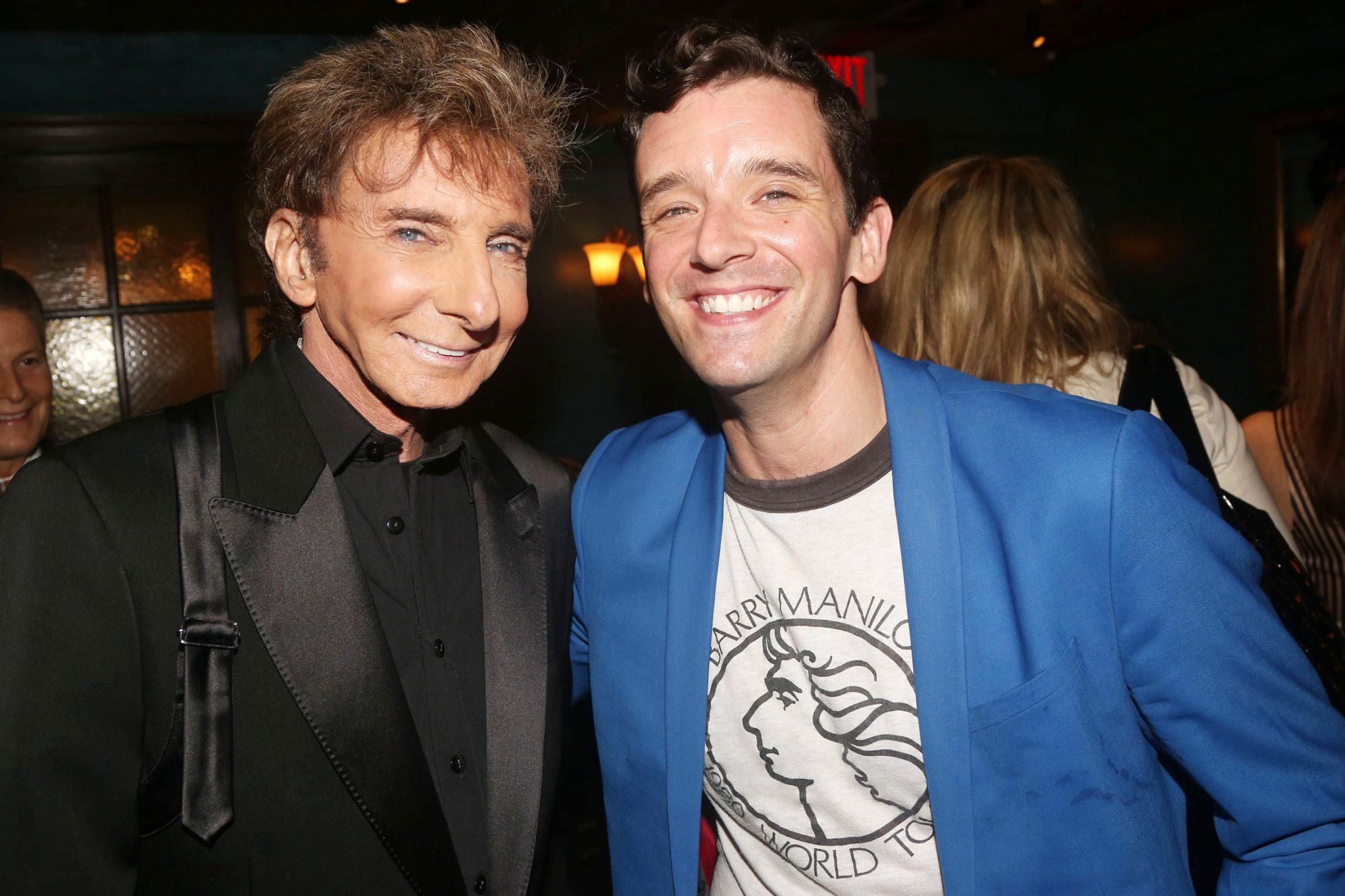 Barry Manilow and Michael Urie