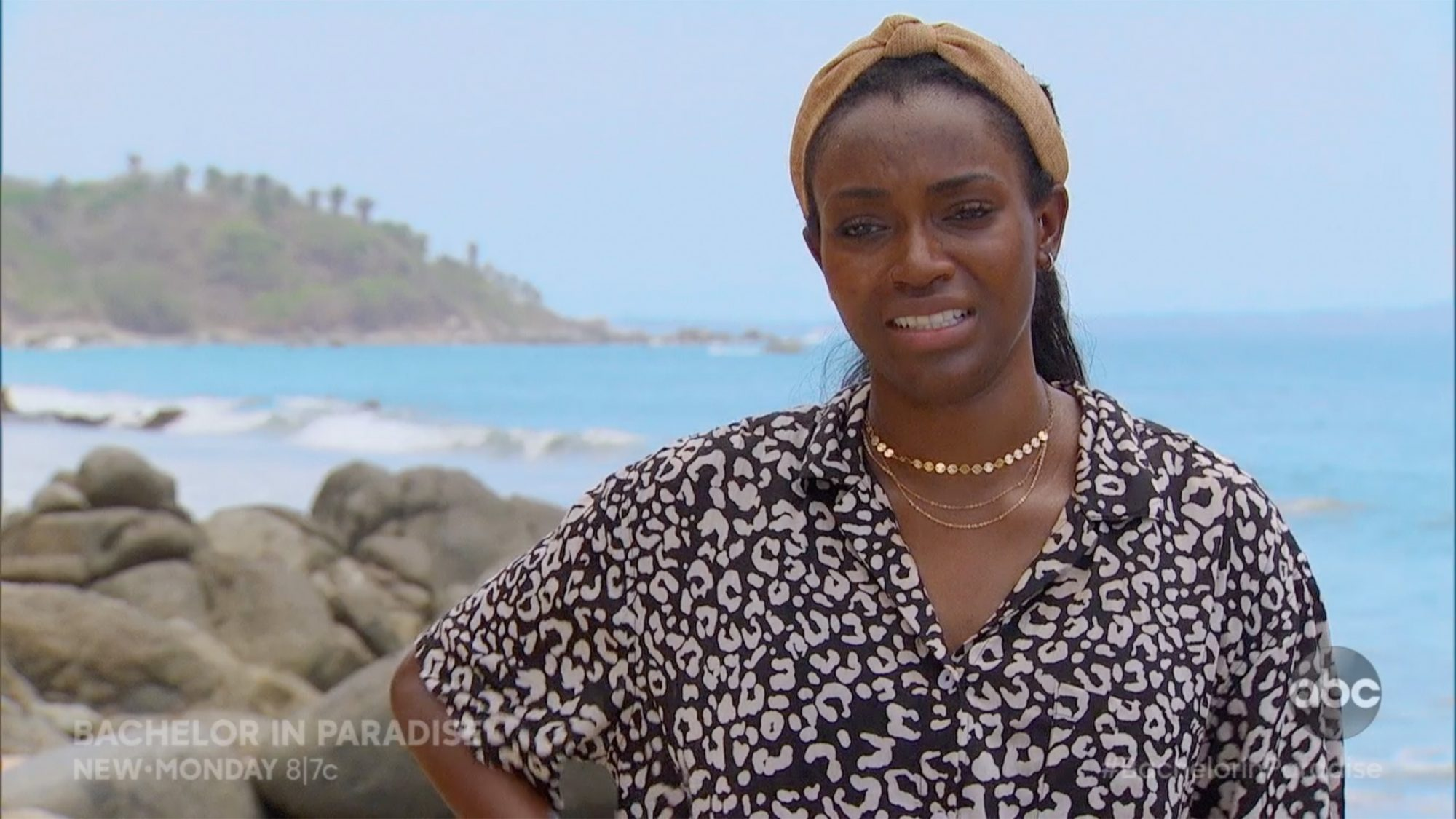 Bachelor in Paradise's Tahzjuan can't handle the heat