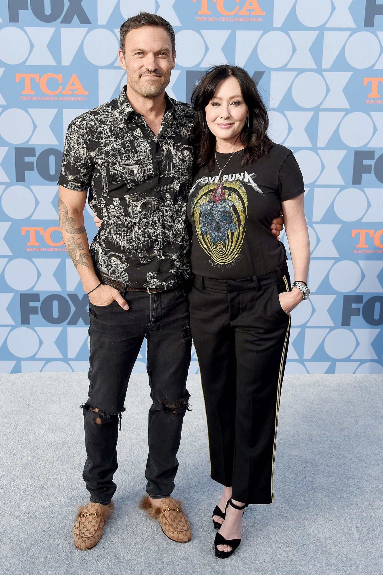 Brian Austin Green and Shannen Doherty