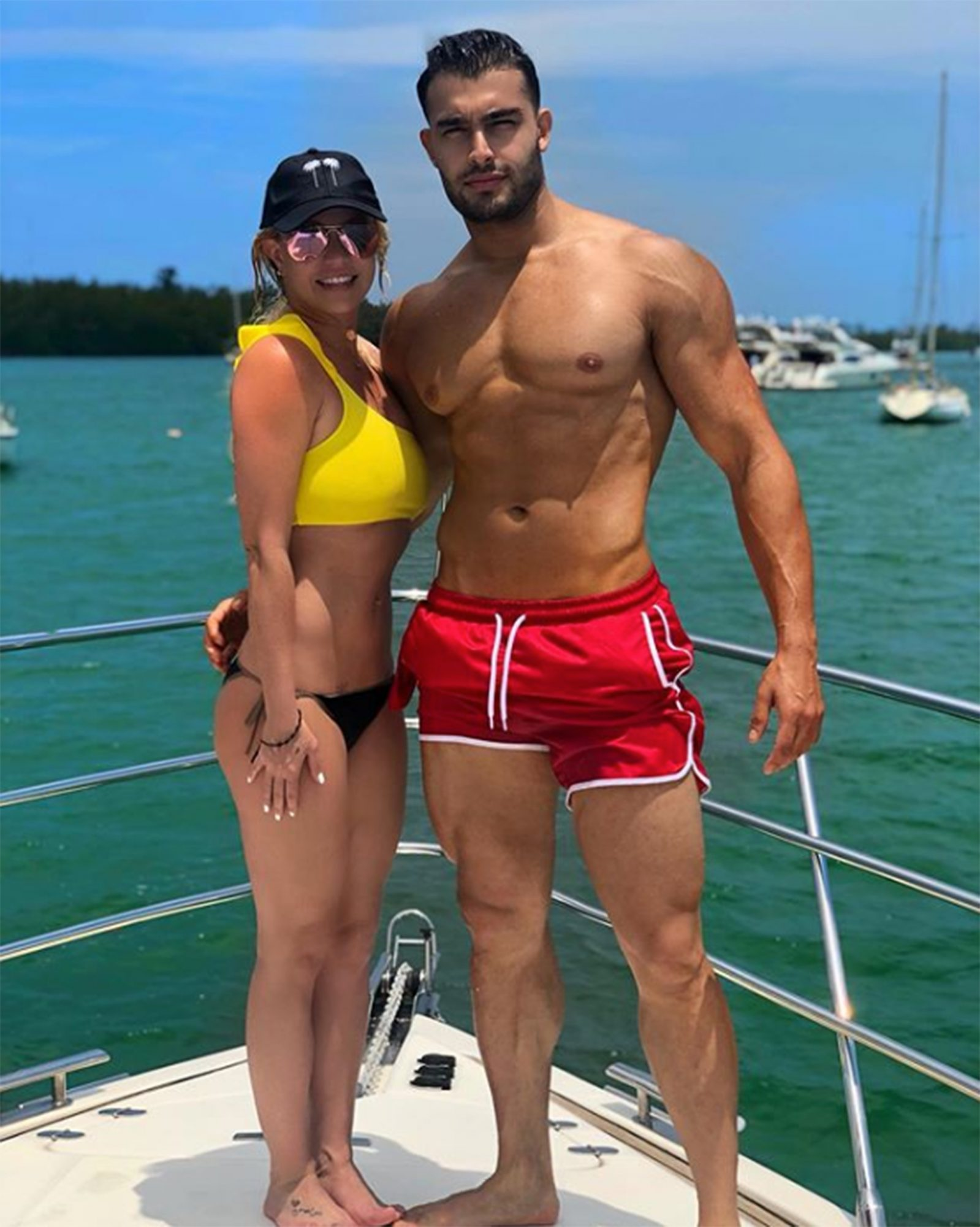 Britney Spears And Sam Asghari Relationship History People Com