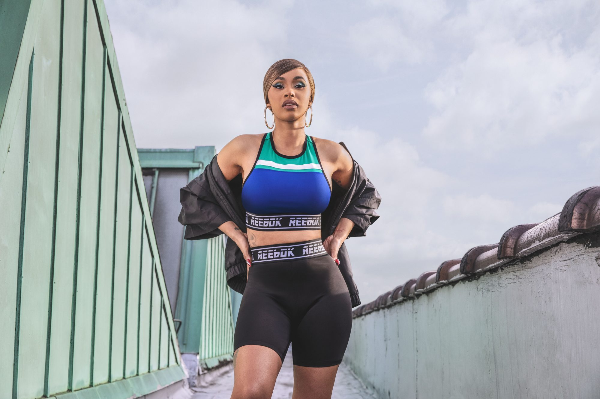 Cardi B Is the Face of Reebok's 'Meet You There' Collection
