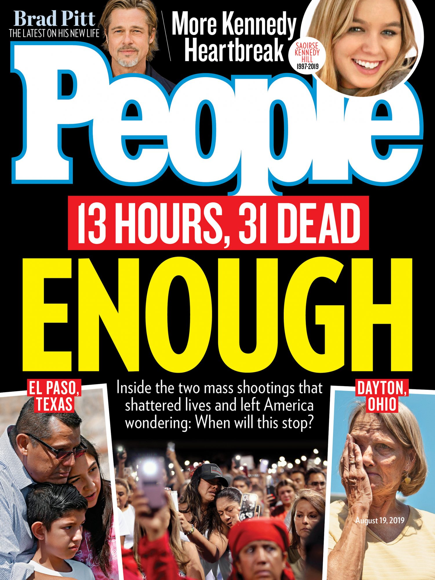People Cover - 8/19/19 Dayton and El Paso Shootings