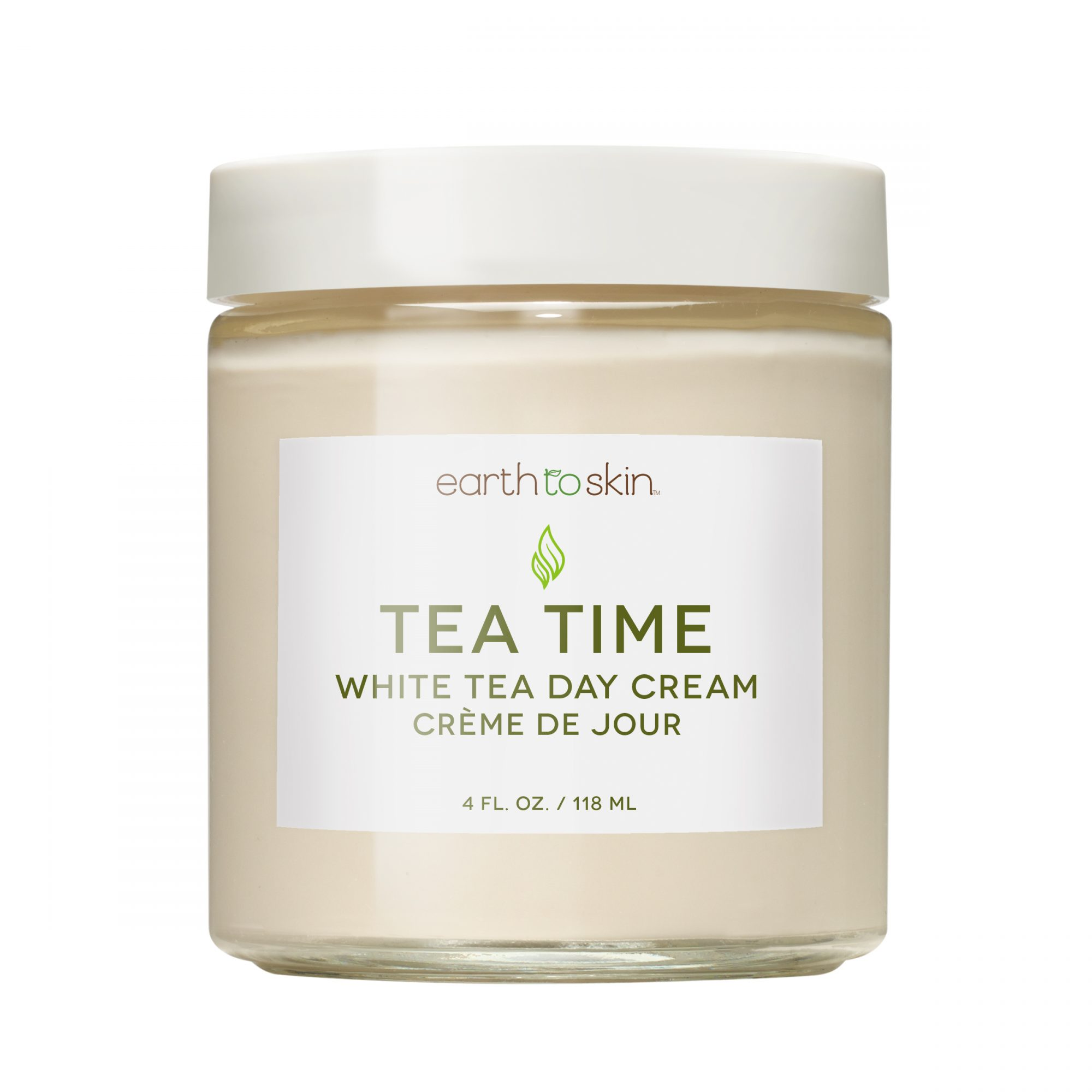 Earth to Skin Tea Time White Tea Day Cream at Walmart