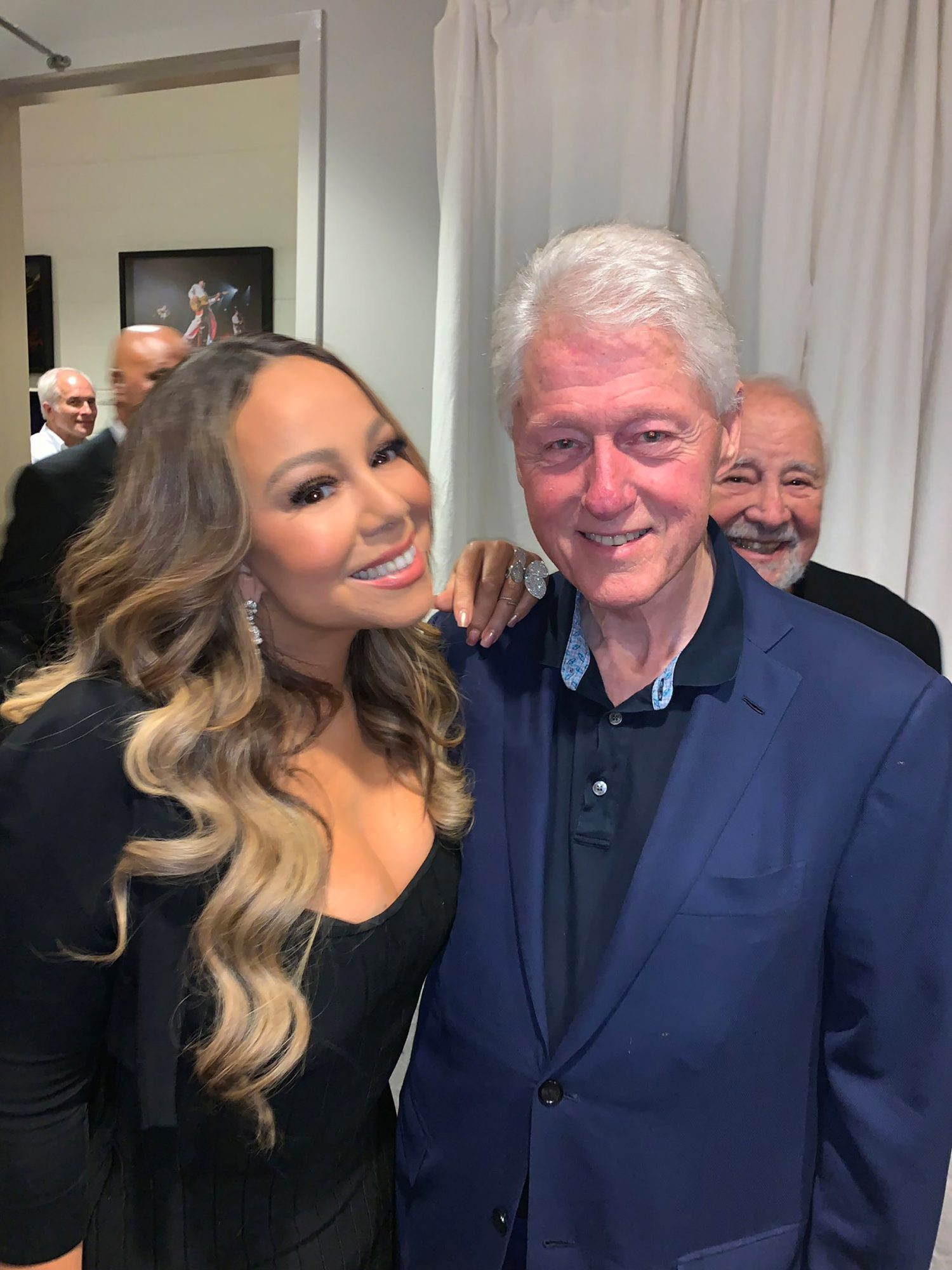 Mariah Carey, Bill Clinton