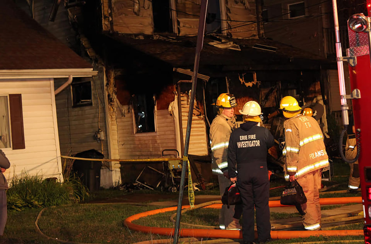 Erie, PA fire