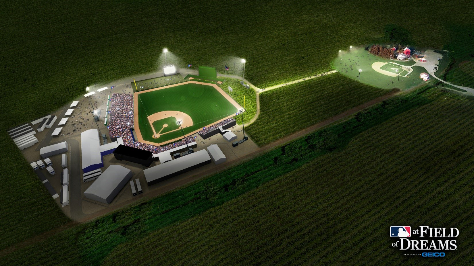 The Chicago White Sox and the New York Yankees will play a regular season game in Dyersville, Iowa at the site of the beloved 1989 baseball movie, Field of Dreams