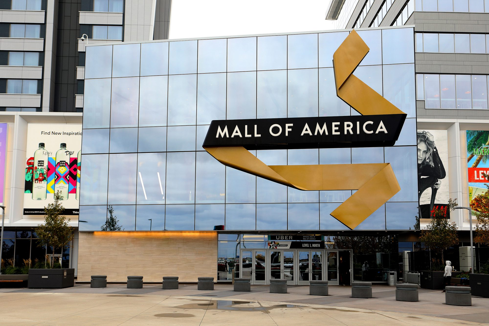 North entrance to Mall Of America in Bloomington, Minnesota
