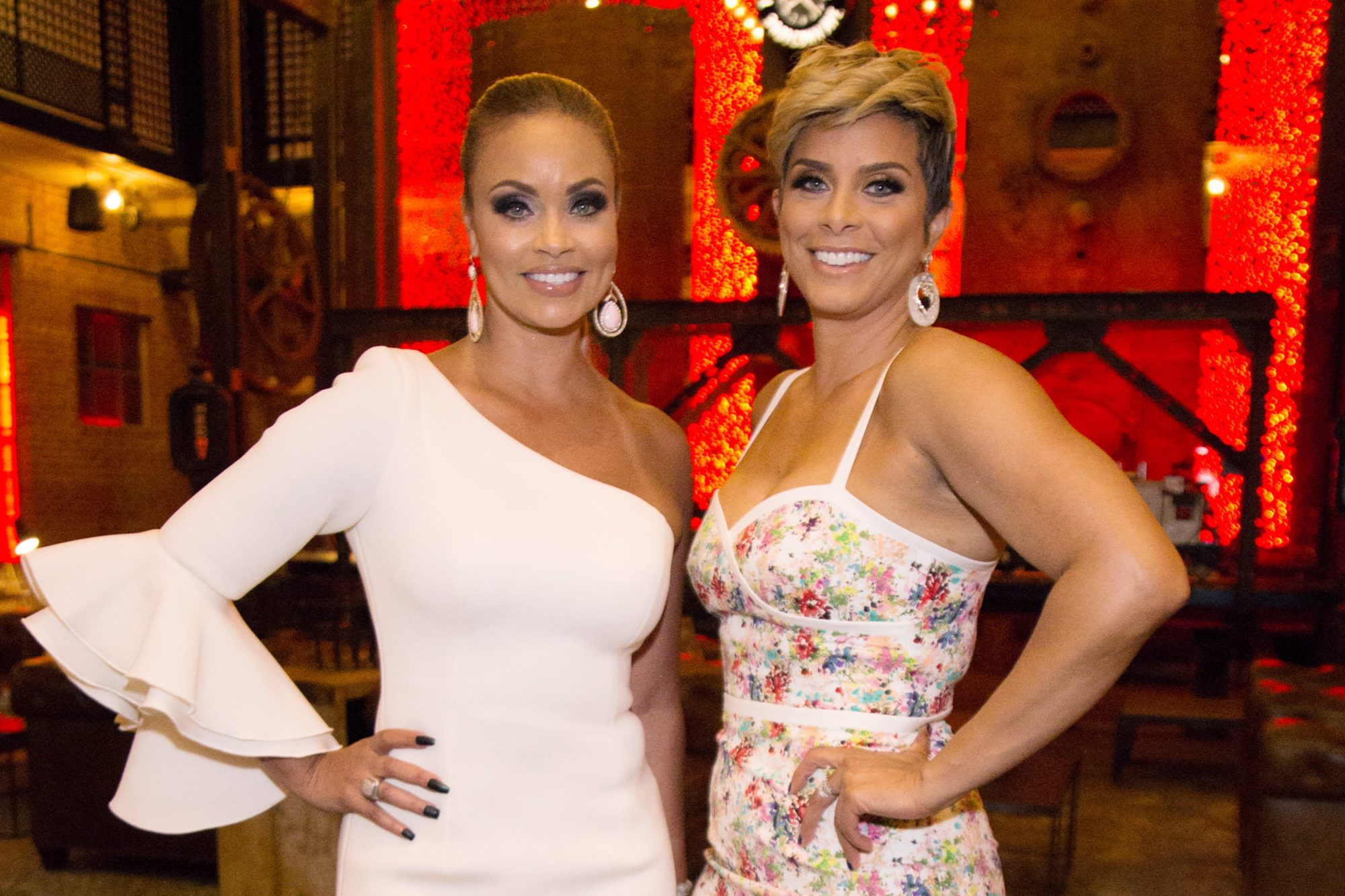 Gizelle Bryant and Robyn Dixon