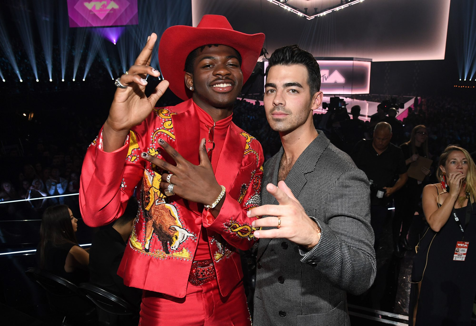 Lil Nas X and Joe Jonas