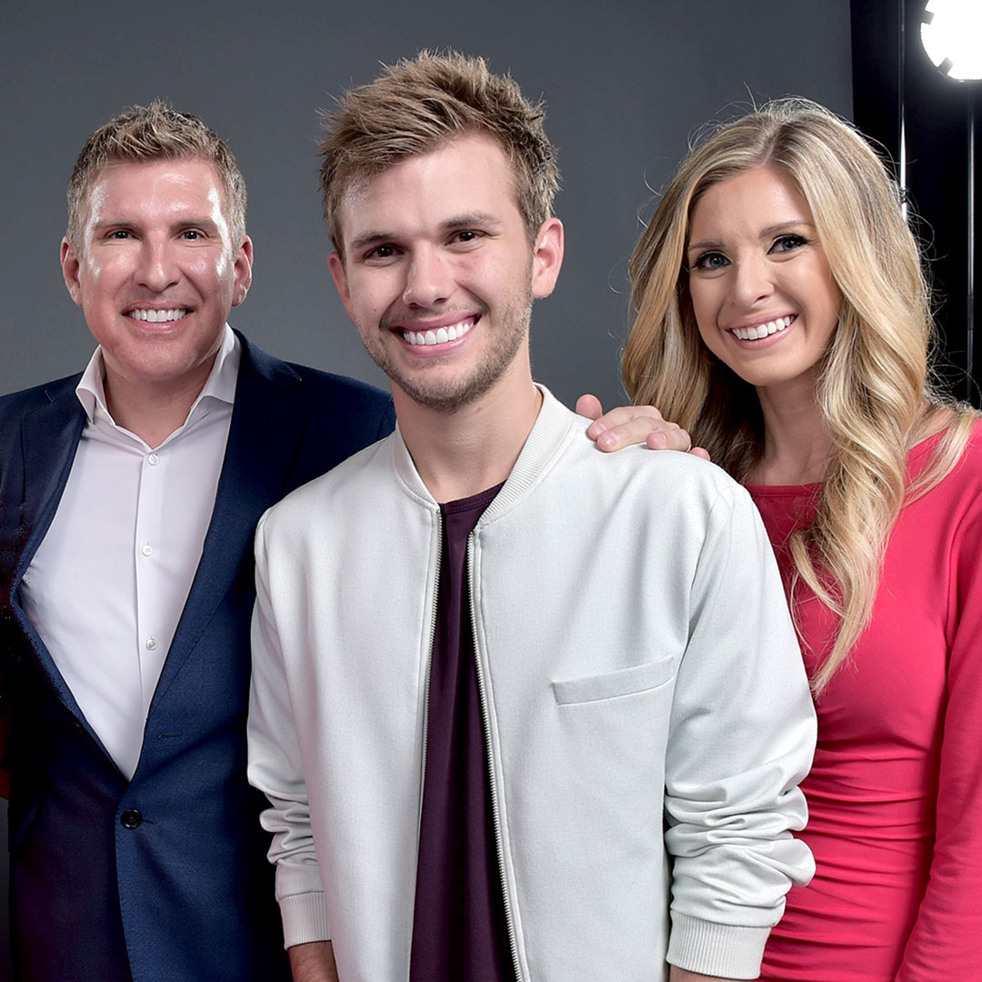 Todd Chrisley, Chase Chrisley, and Lindsie Chrisley