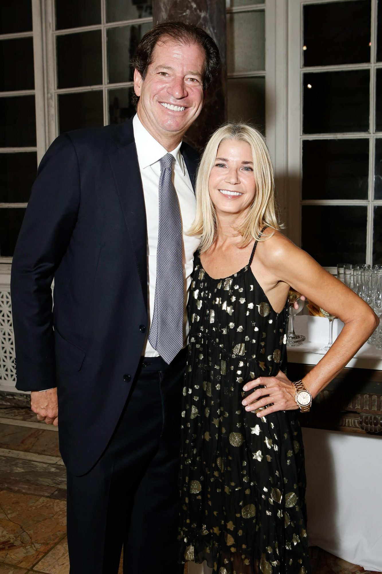 Jim Coleman and Candace Bushnell